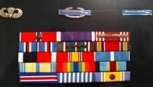 Lt Bud McDonald's earned Medals.jpg