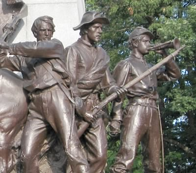 Gettysburg State of Virginia Monument close up.jpg - Fold3.com