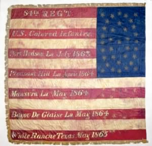Battle Flag of the 84th Regiment, USCT (US Colored Troops).png