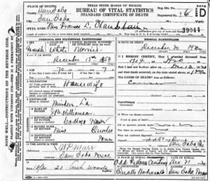 Frances L. Williamson Chamberlain 1920 TX Death Cert.jpg