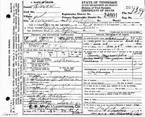 Martha Wallace Keller 1932 TN Death Cert.jpg