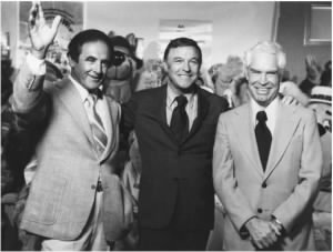 Joseph Barbera, Gene Kelly, and William Hanna.jpg