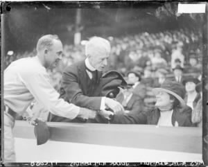 Ty Cobb, Judge Landis and Wife.jpg