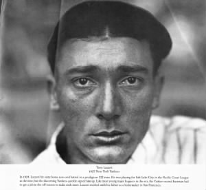 tony lazzeri 1927 new york yankees. by charles m. conlon.png