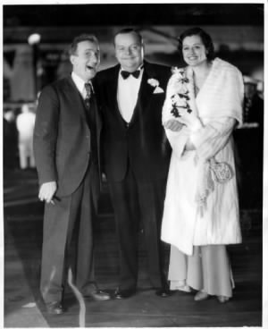 Jimmy Durante, Roscoe, and Addie.jpg
