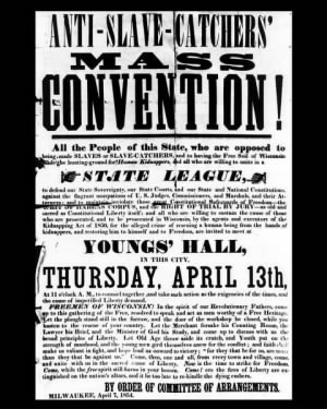 Anti-Slave Catchers' Mass Convention