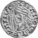 Silver Coin portraying Harold Godwineson