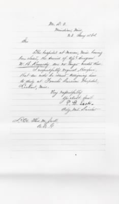 1864 Transfer to Lockhart, Mississippi