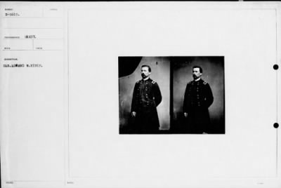 Mathew B Brady Collection of Civil War Photographs › B-5615 Gen. Edward W. Hinks. - Fold3.com