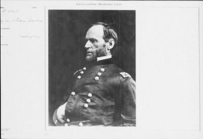Mathew B Brady Collection of Civil War Photographs › B-2860 Major General William T Sherman - Fold3.com