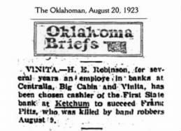 The Oklahoman, 20 Aug 1923