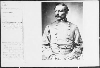 Mathew B Brady Collection of Civil War Photographs › B-1233 Gen. G.T. Beauregard, C.S.A. - Fold3.com
