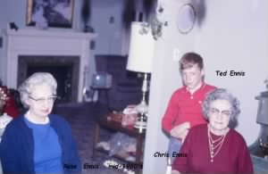 ENNIS, Aunt ROSE, Ted and CHRIS.JPG