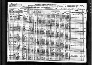 1920 US Federal Census