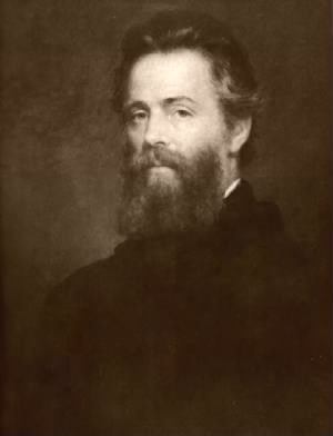 Painting of Herman Melville