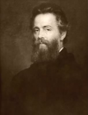 Painting of Herman Melville - Fold3.com