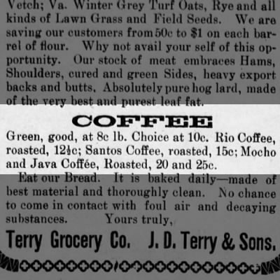 Green coffee?