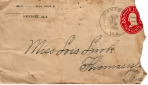 Letter from Dolph Barker to Lois Link - 11 August 1909