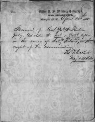 Letters Received by Col. H. L. Burnett, File Nos. 360-751 › Page 72 - Fold3.com