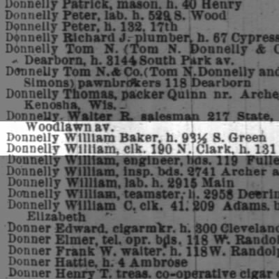 Donnelly, William