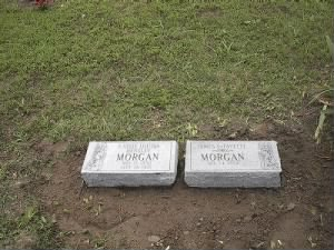James Lafayette and Cassie Morgan's markers.