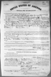 Max Soafer › Petition for Naturalization (1921) - Fold3.com