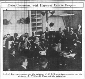 5/14/1907 - Boise Courtroom With Haywood Case In Progress - Picture Only